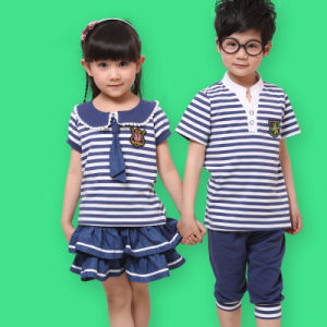 School Uniform for Kid′s with Skirt pictures & photos