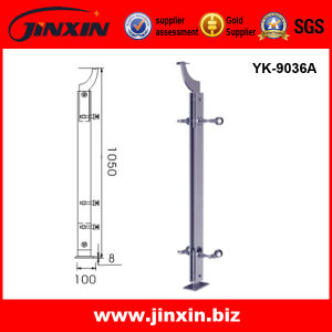 Stainless Steel Glass Staircase Railing (YK-9036A)