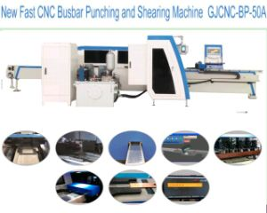 Intelligent CNC Busbar Punching and Shearing Machine New Fast Model Gjcnc-Bp- 50A pictures & photos