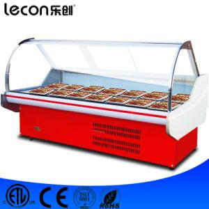 Supermarket Display Showcase Fish/Chicken Meat Refrigerator