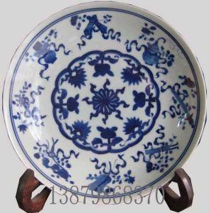 China Wholesale Blue and White Porcelain Plates (YS12040016) - China ...