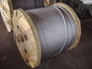 Steel Wire Rope (6X19+FC, 6X19+IWRC) pictures & photos