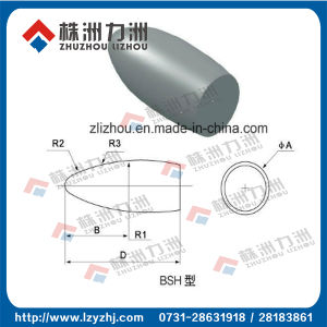 European Tungsten Carbide Rotary Burrs Blank