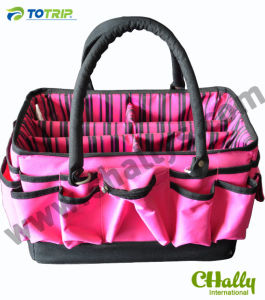 Lady Pink Multi Function Open Top Tool Bag