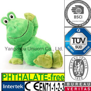 EN71 Baby Gift Stuffed Animal Plush Toy Frog