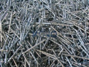 "4"" Galvanised Twisted Nails for Africa pictures & photos"