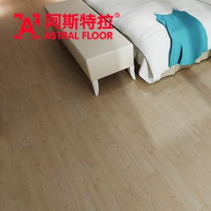 American Oak 12mm Melamine Engineered Flooring (AY1702) pictures & photos