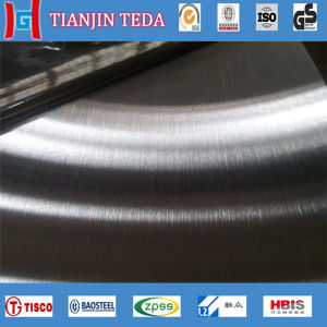201 430 304 No. 4 Satin Finished Stainless Steel Sheet pictures & photos