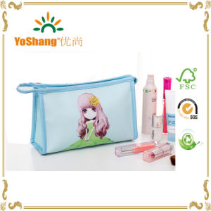 Good Quality PU Cosmetic Travel Wash Bag Toiltry Bag pictures & photos