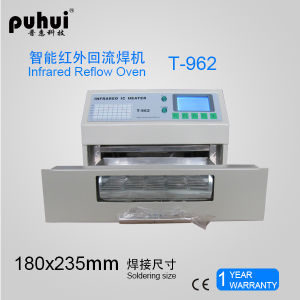 Desktop Reflow Oven T962, Mini Wave Solder Oven, Puhui T-962 pictures & photos