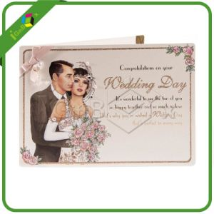 Customized Wedding Cards with Ribbon for Invitation pictures & photos