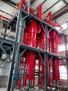Pesticide Wastewater Treatment Triple Effects Evaporator