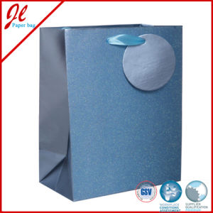 Navy Printed Packaging Bags with Special Matalic Lamination pictures & photos
