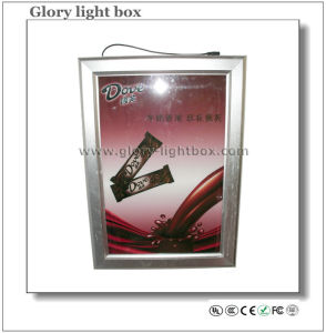 Advertising Slim Light Box with Snap Frame (CB009) pictures & photos