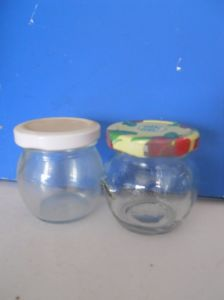 100 Ml Glass Jar for Food, Glass Container pictures & photos