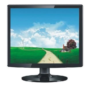 17 Inch LCD Monitor with VGA Interfaces pictures & photos