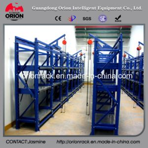 Warehouse Storage Metal Mould Holder Shelving
