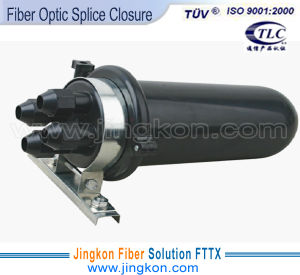 Two in Two out Vertical Fiber Optic Splice Closure (JK009-01-05)
