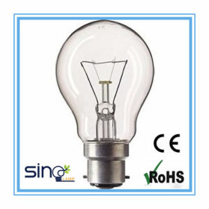 A55 B22 Base Clear Incandescent Bulb pictures & photos