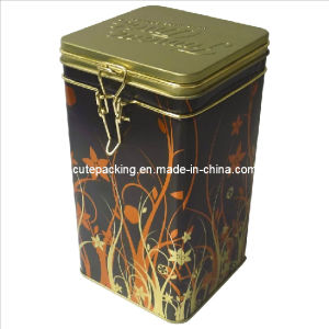 FDA Approved Coffee Tin Box with a Lock (CT04)