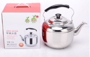 6.8L Stainless Steel Apple Kettle Water Kettle and Teapot (CS-034)