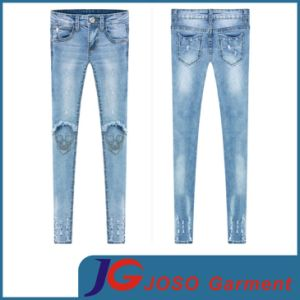New Women Denim Jeans Sexy Skinny Legging Jegging (JC1321) pictures & photos