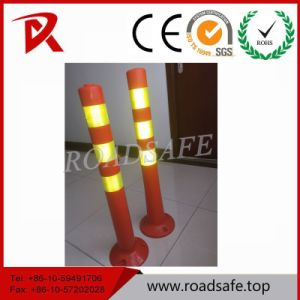 Warning Post Road Safety Flexible Spring Delineator Post pictures & photos