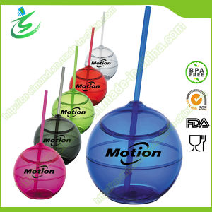 500ml Ball-Shape Straw Cup, BPA-Free (TB-A5) pictures & photos
