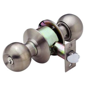 Cylindrical Stainless Steel Separate-Part Knob Lock (505221) pictures & photos