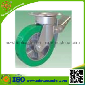 Industrial Heavy Duty Brake Caster with High Quality PU Wheel pictures & photos