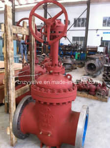 Gear Operated Pn64 Dn400 Gate Valve pictures & photos