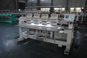Industrial Sewing Machine 4 Heads Computerized Embroidery Machine Swf China Good Quality Flat Embroidery Machine pictures & photos