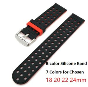 22mm Fashion Sports Silicone Bracelet Strap Band for Samsung Gear S3 Frontier