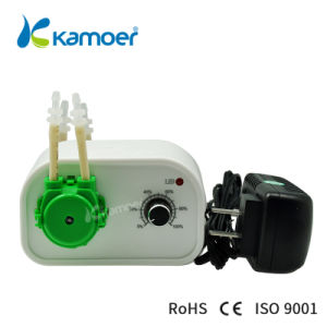 Peristaltic Pump Mini 24 V Water Pump Dispensing Flow Adjustable Filling Machine Micro Peristaltic Dosing Pump Kamoer (L) NKCP