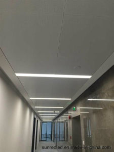 Qr7035 40W 60W 80W Recessed LED Linear Light for Office and Supermarket
