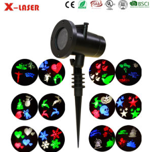 China Factory Newest High Quality Fantastic Effect X-Laser LED Projection 20 Slides with RF Remote Control pictures & photos