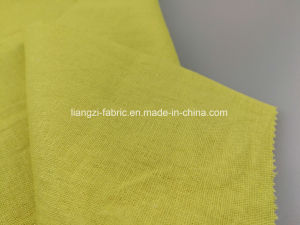 Yarn Dyed Linen Rayon Viscose Piece Dyed with Stretch Fabric-Lz7458 pictures & photos