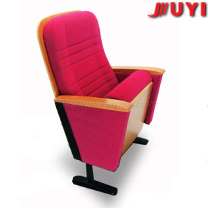 Jy-602 Wooden Cinema Seat Banquet Stadium Meeting Furniture Used Hot Selling Church Stackable Conference Chair pictures & photos