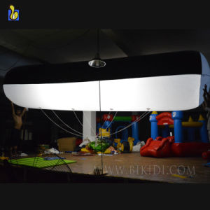 Advertising Inflatable Cylinder Lighting Helium Balloon, Giant Helium Balloon with LED Lights K7018