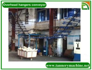 Hanger Conveyor for Leather Kangaroo in Tannery