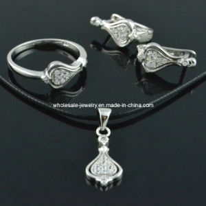 Special Xmas Ornaments Silver Jewelry Sets with Silver Rings, Silver Earring ,Silver Pendant