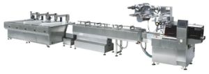Chocolate Pillow Type Packaging Line pictures & photos