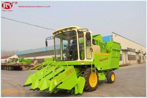 China 4yz 3c Small Corn Combine Harvester Machine For Sale China