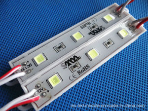 Waterproof 3chips 12V LED Module for Commercial  Standing  Lighting pictures & photos