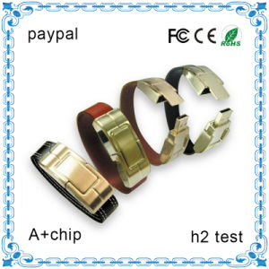 Hot Sale 4GB OEM Bracelet USB Flash Drive Wristband USB, Logo USB