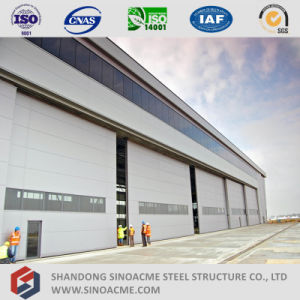 Sinoacme Large Span Steel Structure Hangar for Airplane Maintenance pictures & photos