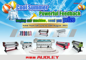 10FT Eco Solvent Poster Printing Machine for Sale Adl-H3200 pictures & photos