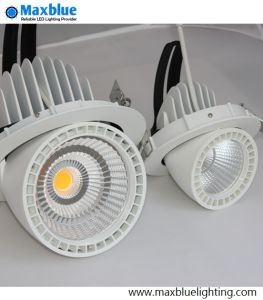 6 Inch 50W COB Adjustable Gimbal LED Downlight 5-Year Warranty pictures & photos