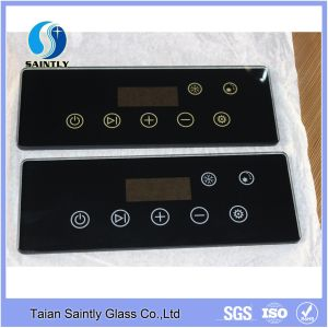 5mm Tempered Clear Silk Printing Touch Screen Glass Covers for Ice Machine