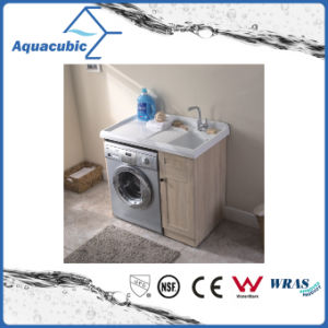 Plywood Cabinet with Artificial Resin Basin (ACF8910) pictures & photos